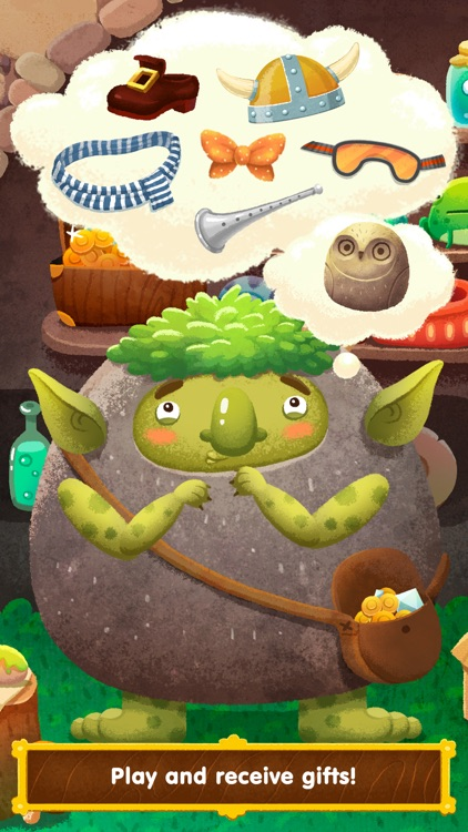 Wonderland - learn how fairy-tale creatures live (game for kids) screenshot-3