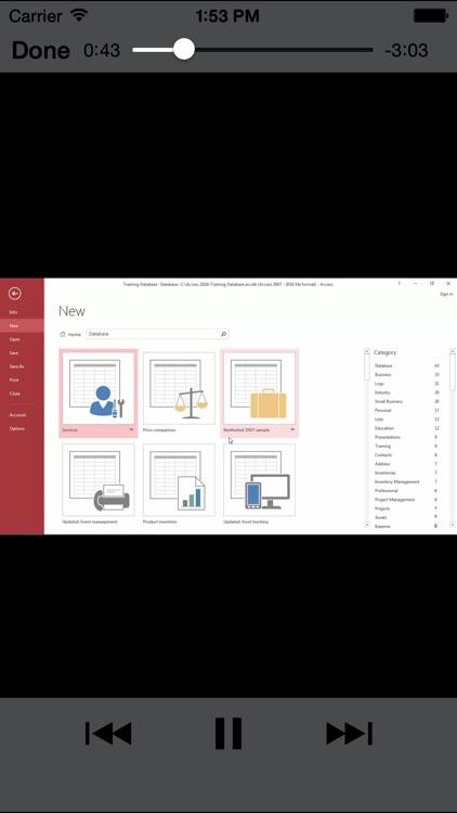 LearnForAccess2016 screenshot-4