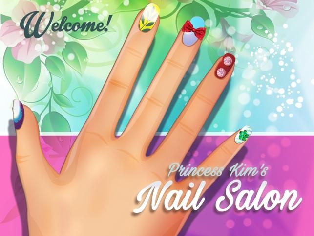 Princess Kim\'s Nail Salon on the App Store
