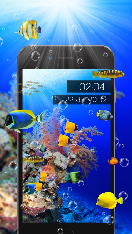 Amazing Aquarium Clock LITE screenshot-4