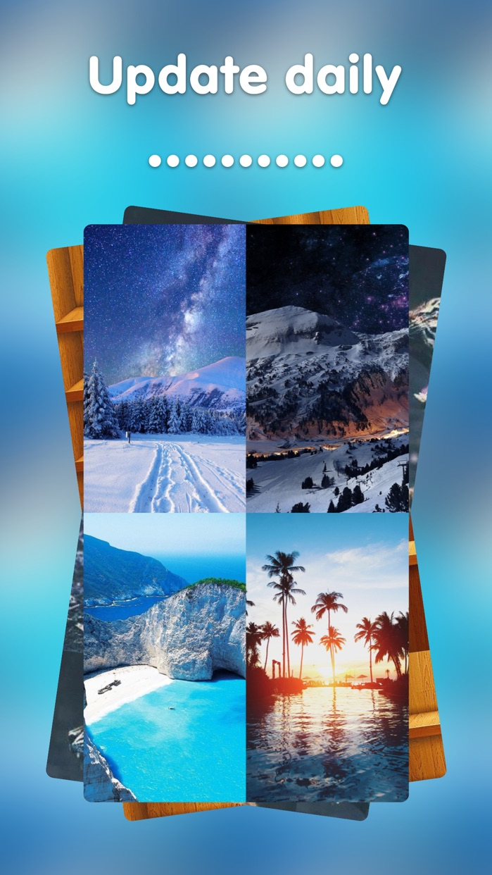 Wallpapers HD - Themes Lock Screen and Backgrounds for iPhone and iPad, iPod Screenshot