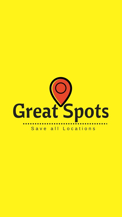 Great Spots - Save all Locations