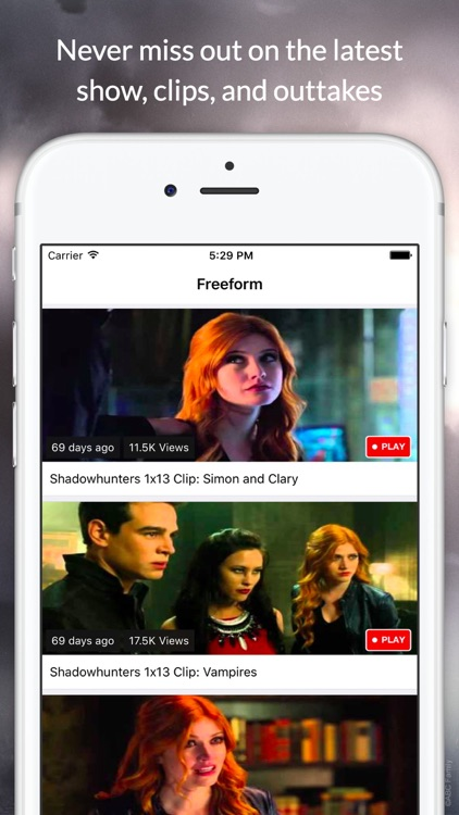 Fan Club for Shadowhunters - Live Chat & Videos