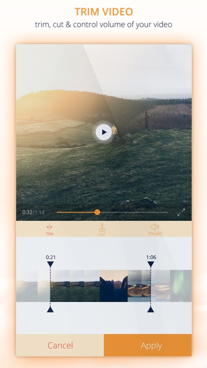 InstaVideo Editor - Trim & Add music to videos screenshot-3