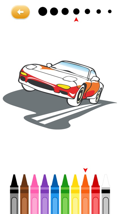 Cars Coloring Pages Printable Free For Girls And Boys