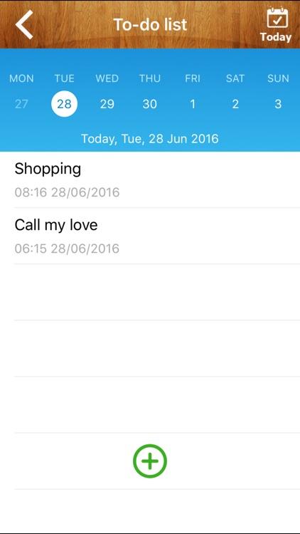 Good Calendar Free- Beautiful Calendar, To-do List, Weather, Notes Locker screenshot-3