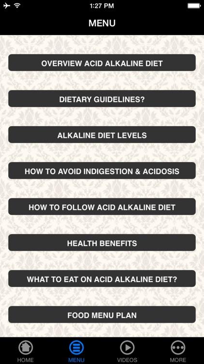 Acid Alkaline Diet - Beginner's Guide screenshot-3