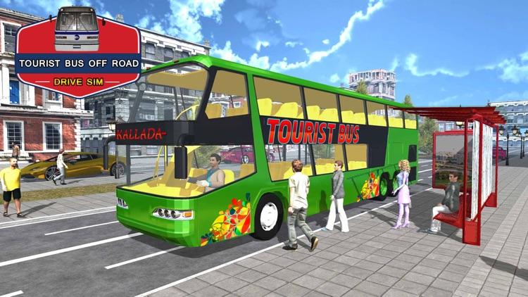 Tourist Bus Off Road Drive Sim screenshot-4
