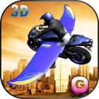 Flying Motorcycle Simulator – Futuristic bike Air flight stunts Free Game icon