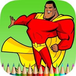 Kahramanlar Boyama Kitabı çocuklar Için ücretsiz Oyunlar