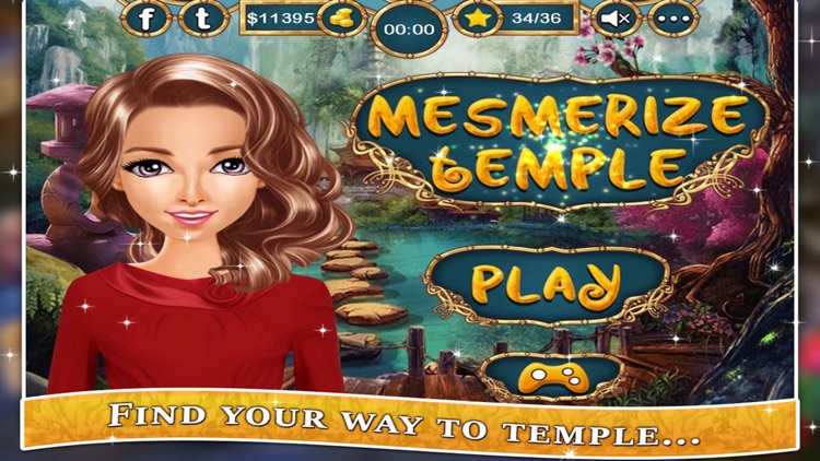 Mesmerize Temple - Hidden Objects game for kids, girls and adult