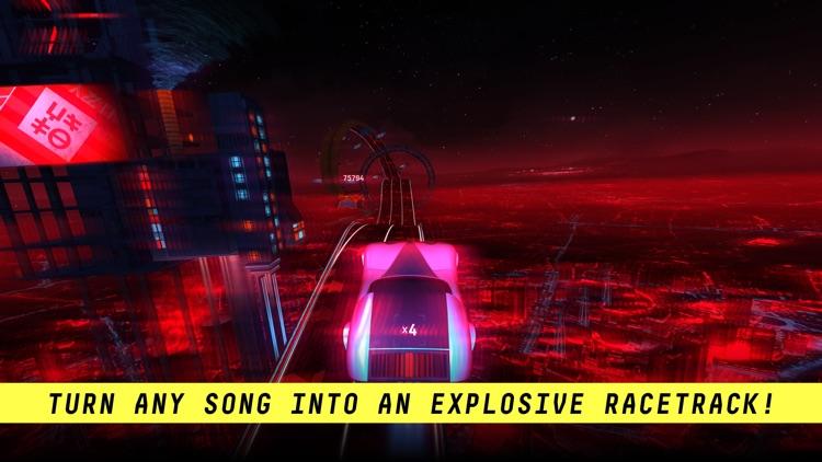 Riff Racer: Race Your Music screenshot-0