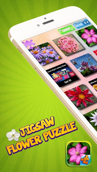 Jigsaw Flower Puzzle – Play Spring Blossom Puzzling Game and Unscramble Floral Pic.s screenshot one