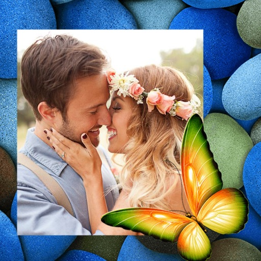 Butterfly Photo Frame - Creative and Effective Frames for your photo iOS App