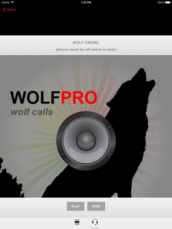 REAL Wolf Calls and Wolf Sounds for Wolf Hunting -- BLUETOOTH COMPATIBLE screenshot-3