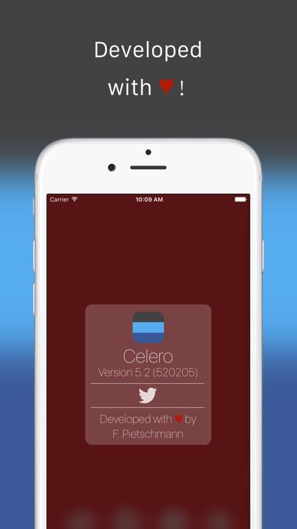 Celero - Quickly tweet, post and text screenshot-4