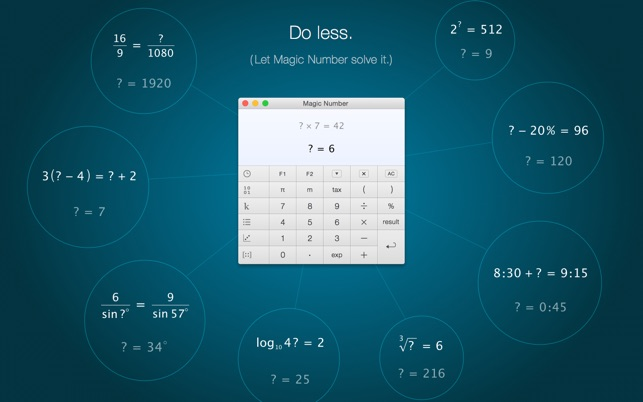 Magic Number – The Calculator Screenshot