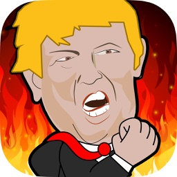 Trump and Clinton Running Man Challenge Game