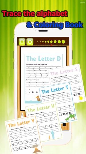 Trace Alphabet Malbuch Klasse 1-6: ABC Lernspiele einfach ...