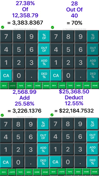 Percentage Calculator 365 : Percent Calculator