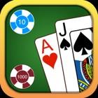 Blackjack - 免费赌场风格21点赌博模拟器 icon