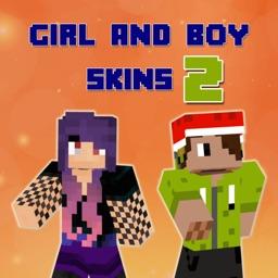 New Girl & Boy Skins for Minecraft Pocket Edition