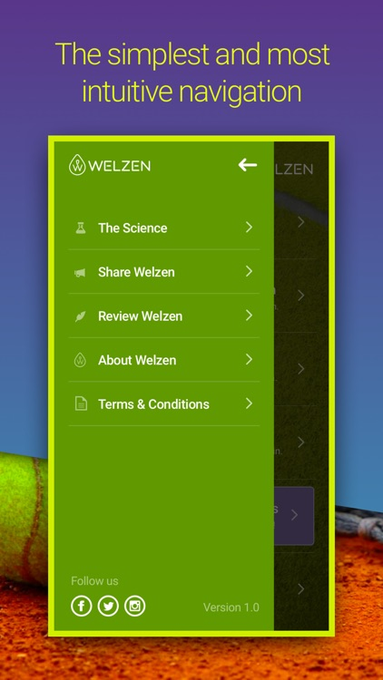 Welzen Tennis - Guided meditation app for pros screenshot-4