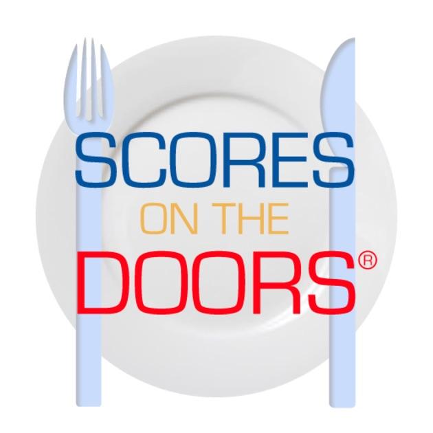 food hygiene scores on the doors