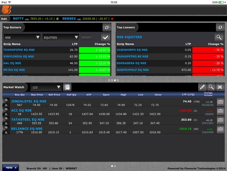 Baroda eTrade Tablet screenshot-4