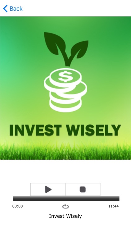 Invest Wisely Pro Hypnosis