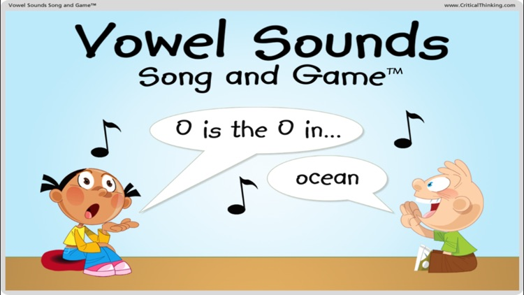 Vowel Sounds Song and Game™ screenshot-0