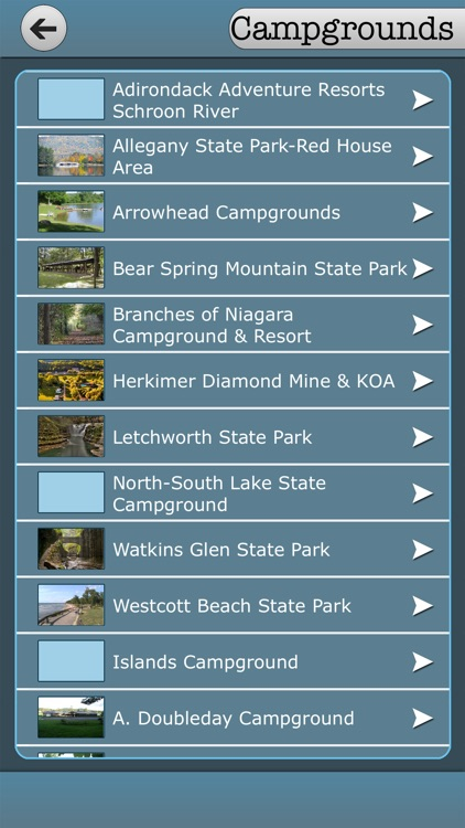 New York - Campgrounds & State Parks screenshot-3
