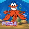 Lobster Sea Animals Jigsaw Puzzle Preschool and Kindergarten Learning Games ( 2,3,4,5 and 6 Years Old )