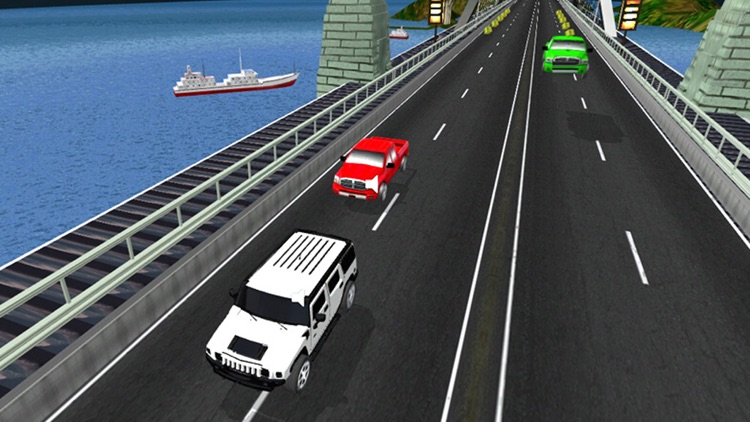 City Car Racing 3d.