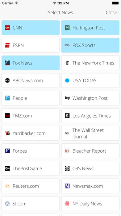 News Hub ! screenshot one