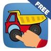 汽车益智游戏为幼儿,儿童和婴儿男孩 - 卡车和工程车辆免费的教育应用程序