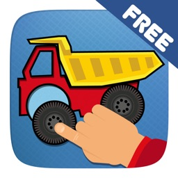 Car Puzzle Game for Toddlers, Kids and Baby Boys – free educational app with trucks and construction vehicles