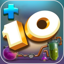 Plus 10 Mental Math Game for Brain Training with Addition and Subtraction Drill