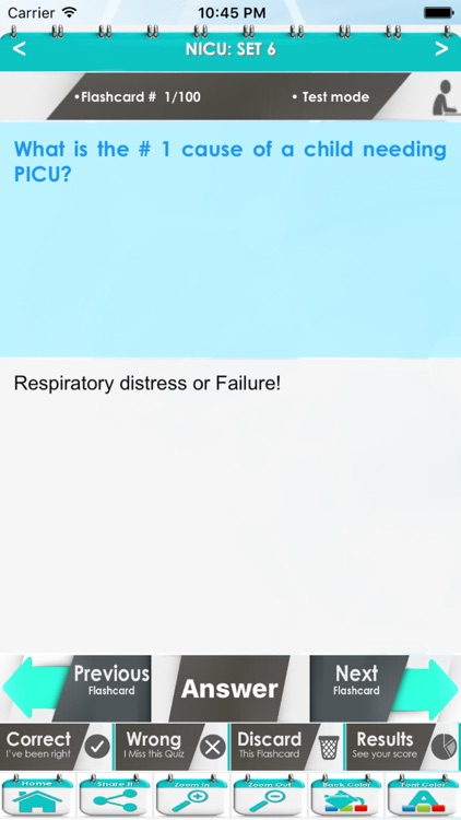 Neonatal Intensive Care Unit (NICU): 4200 Flashcards screenshot-3