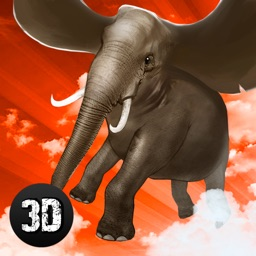 Wild Flying Elephant Simulator 3D Full