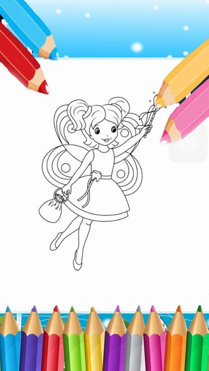 Draw Color Princess by Nguyen Huu Tri