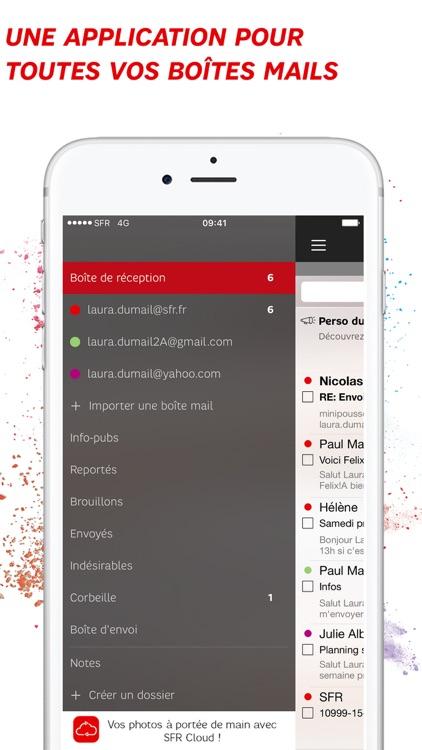 SFR Mail – l'application de messagerie pour emails screenshot-0