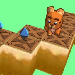 Zigzag jumpy bear 3D - Endless jump and run on zig zag road
