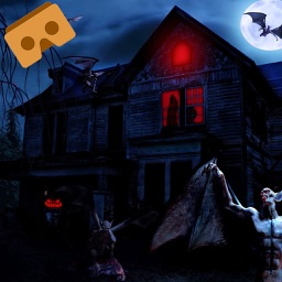 VR- Visit Haunted House 3D Free