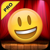 Talking Emoji Pro - Send Video Texting Emoticons using Voice Changer and Dash Emoji Geometry Stick Game