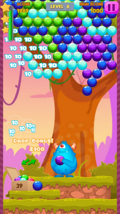 Bubble Shooter: Monster Quest screenshot-3