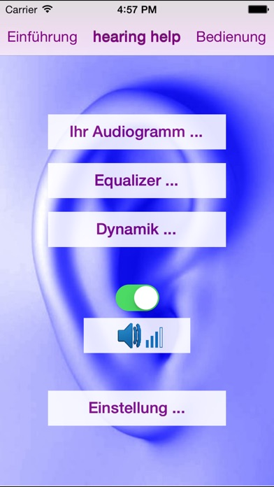 Screenshot for hearing help in Germany App Store