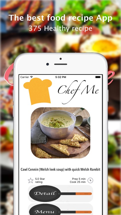 Chef Me : The food recipe and cooking app that makes you a chef