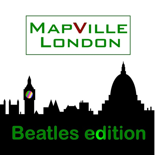 MapVille London – Beatles Edition