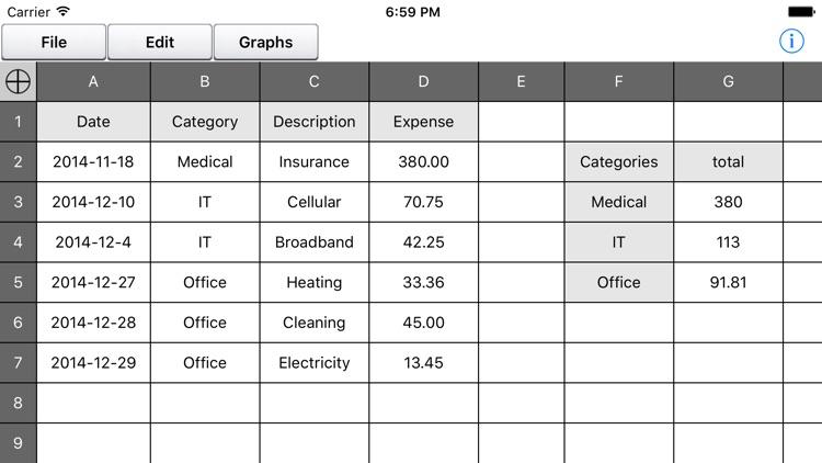 Discount Spreadsheet